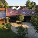 Rénovation d'une toiture à Wailly près d'Arras