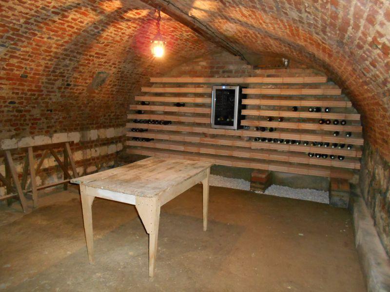 Rénovation dune cave construction cave à vin Arras