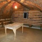 Rénovation d'une cave construction cave à vin Arras