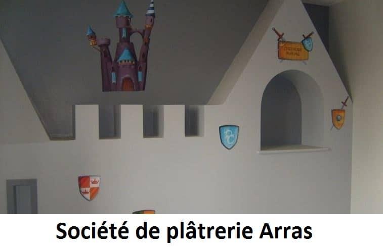 Société de plâtrerie à Arras
