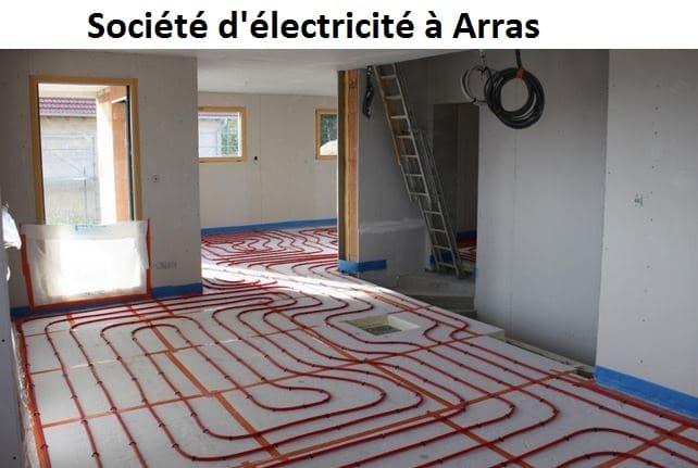 Société électricité à Arras