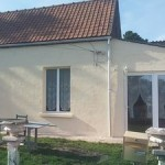 Travaux de rénovation façade – salle de bains – plâtre – menuiseries à Plouvain près de Arras