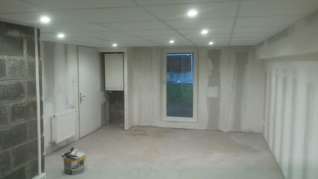 Travaux de maçonnerie a la basse - rénovation d'un garage