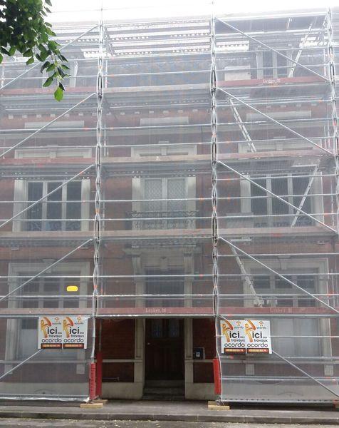 Renovation de couverture et facade a arras
