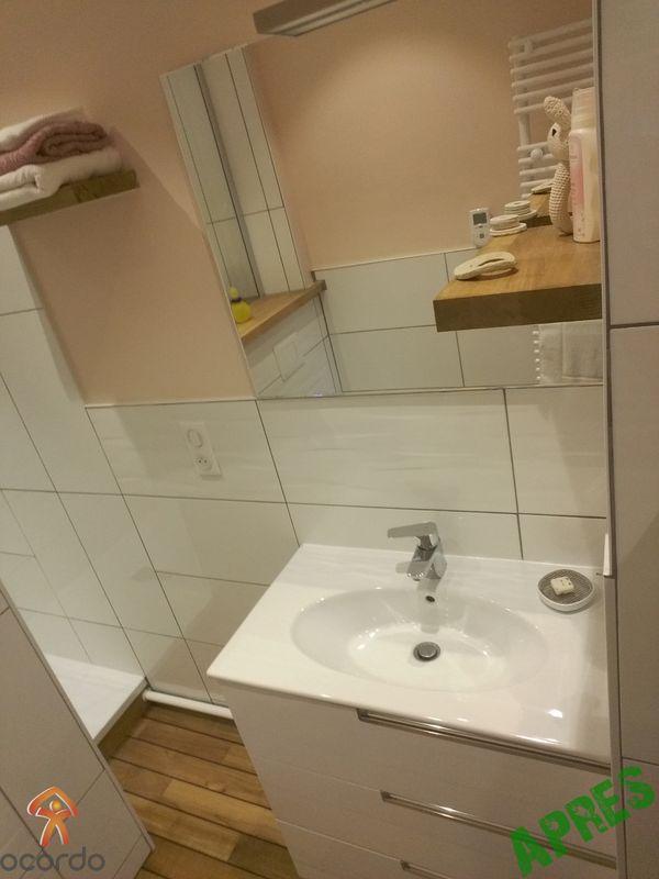 R novation d 39 une salle de bains arras plomberie et for Travaux plomberie salle de bain