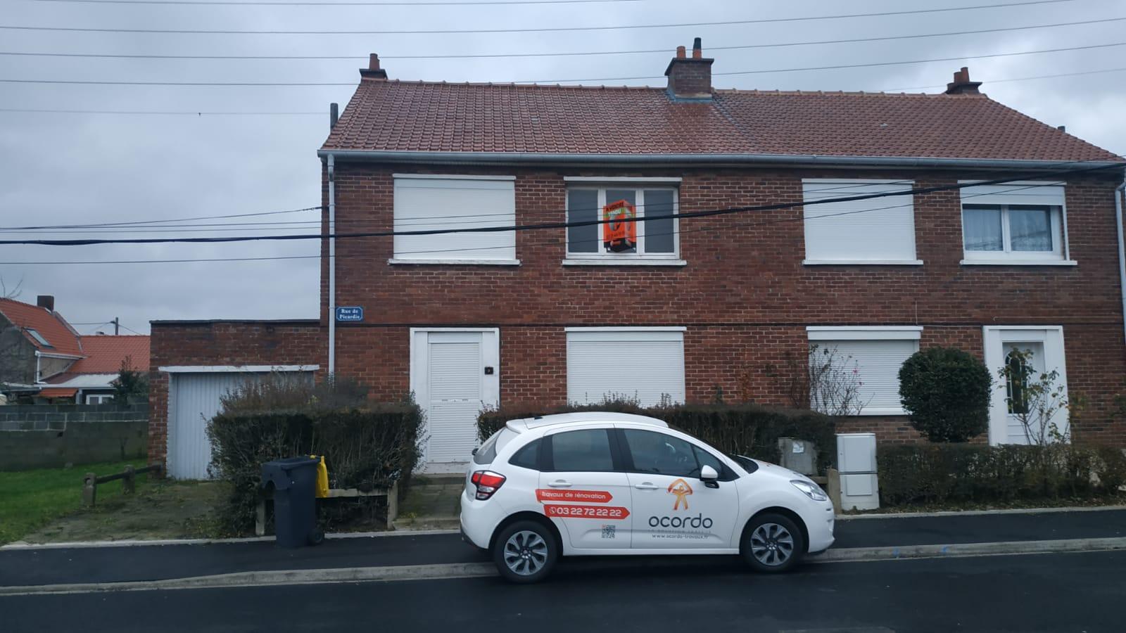 Projet de rénovation d'une maison à Arras