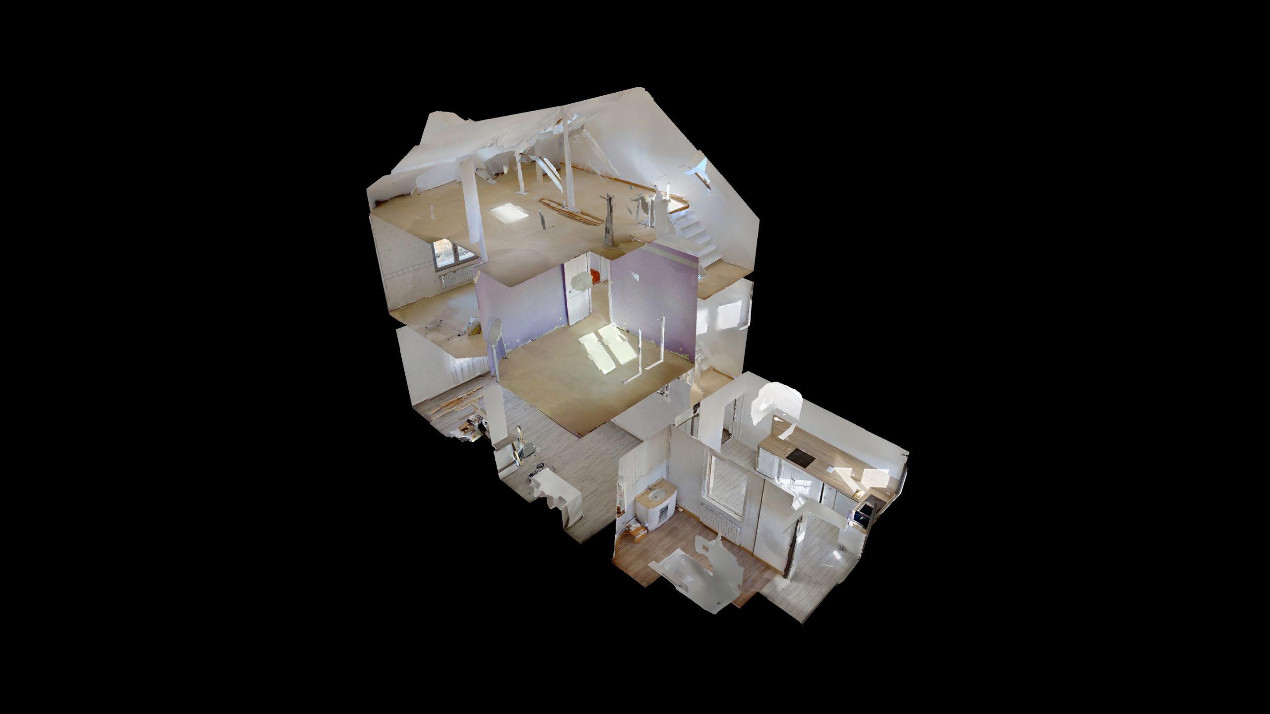 Scan 3D maison Arras
