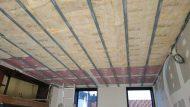 Travaux de rénovation chez pulpimo arras d'isolation, d'électricité et de rehaussement de plafond
