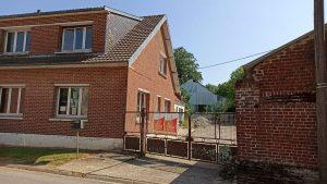 Démarrage des travaux de rénovation dans cette maison à Beaumetz-les-Loges