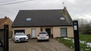 Travaux de rénovation de cette maison à Saint-Martin-sur-Cojeul