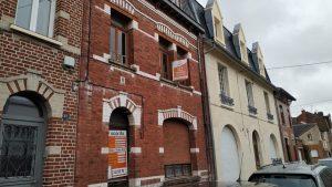 Démarrage des travaux de rénovation de cette maison à Arras