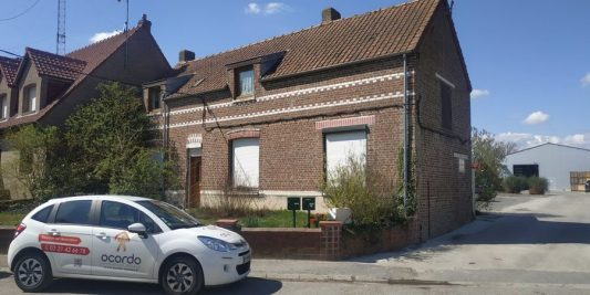 Visite de présentation des entreprises pour un projet de rénovation à Loos-en-Gohelle