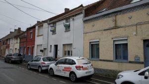 Travaux de rénovation en cours dans cette maison à Dourges