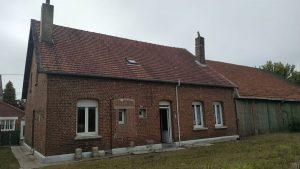 Estimation du prix des travaux de rénovation pour la vente de cette maison à Hamelincourt
